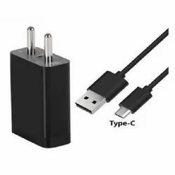 1.5 Meter Black Electric Type C Charger