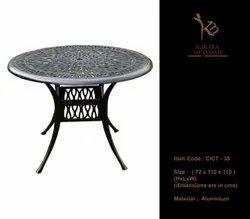 Cast Aluminium Table