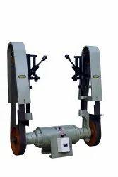 Rajlaxmi 2 HP Double Side Abrasive Belt Grinder