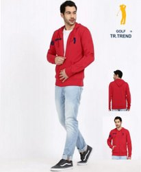GOLF TRTREND  LOOPKNIT WITH RISING MEN' S WINTER WEAR