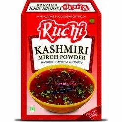 Ruchi Kashmiri Mirch Masala, Packaging Size: 100 g