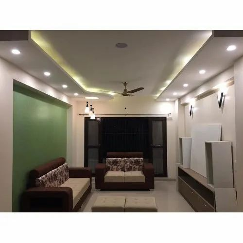 Living Room False Ceiling Design In Faridabad By Shine Interiors Id 22566964355