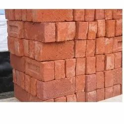 Clay 8X4X3 Inches Solid Red Bricks
