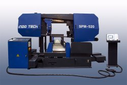 Spm-520 With Aggressive CANT Angle For Structural Steels With Optional Motorised Pusher Arrangement