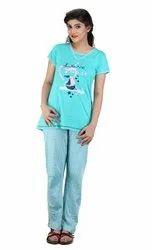 Full Length Cotton LPJS 007 Ladies T-Shirt