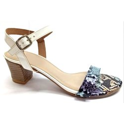 Party Wear Ladies High Heel Sandal, Size: 3 - 8