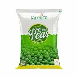 Farmico A Grade 1Kg Frozen Green Peas, Packet