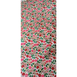 Jacquard Silk Fabric, Dry Clean, GSM: 150