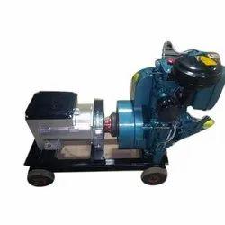 Single Phase 7.5kva Diesel open Generator Set