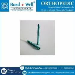 3.5 mm Orthopedic Implants Cancellous Locking Screw