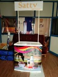 ABS Plastic Promotion Table, Size: 32 Inch X 32 Inch X 16 Inch