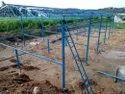 Elevated goat farm sheds