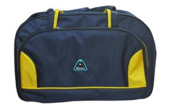 Weideli Blue, Yellow Traveling Trolley Bag, For Travelling, Size: 24x18 Inch