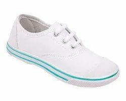 Oxford Footwear Canvas Unisex White PT Shoes