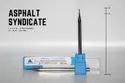 Asphalt 1mm 1 X 3 X 75 (4 Mm Shank) 4f - Flat - 50 Hrc, Length Of Cut: 3mm, 75mm