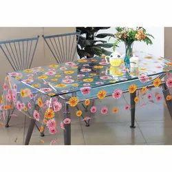 PVC Rectangular Vinyl Table Covers, Size: 40x60 Inch