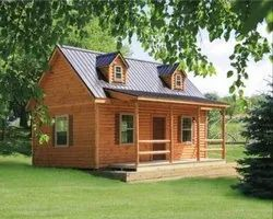 Prefabricated wooden house