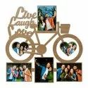 Cycle Shaped Photo Frame