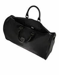 Rivini Black Duffle Bag