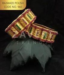 960 Rajwadi Polish Bangles