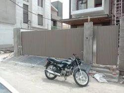 Aluminium Sliding Main Entrance Gate