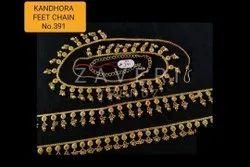 391 Kandhora Feet Chain