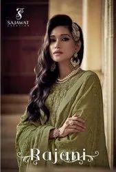 Sajawat Creation Rajani Georgette Party Wear Suits Catalog