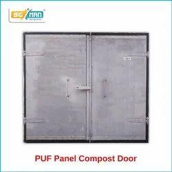 PUF Panel Compost Door