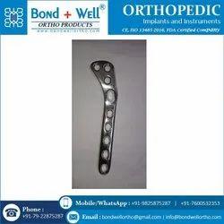 Orthopedic Implants Hockey Locking Plate