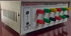 DC Regulated Fixed Power Supply With 8 Outputs ML 125