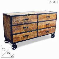 Suren Space Wooden Modern Decoration Industrial Kitchen Cabinets, Size/Dimension: 120 X 45 X 75 Cm
