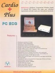 ECG 12 CHANNEL WITH PC CONNECTIVITY AND AUTO REPORTING, Digital, Cardio Plus
