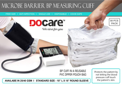 Microbe Barrier BP Measuring Cuff