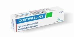CORTIWELL -NS Hydrocortisone Acetate Cream, Packaging Type: Tube, Packaging Size: 15 Gms