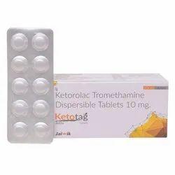 Ketorolac Tromethamine Dispersible Tablets 10 mg