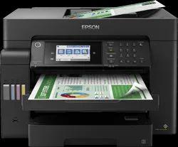 Colored EPSON L15160 PRINTER, 34ppm Black 24 Ppm Color, Model Type: Inkjet