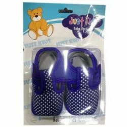 Blue (base Color) Kids Baby Shoes, 1-2 year