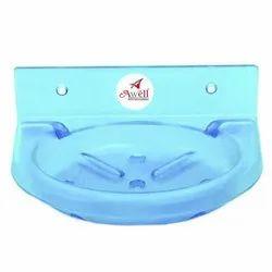 Blue Acrylic Soap Dish