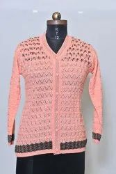 1701 Woolen Ladies Cardigan