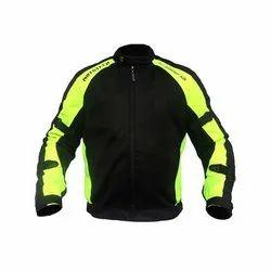 Heavy Duty Micro Mesh Men Flourescent Green MOTOTECH Scrambler AIR Motorcycle Jacket