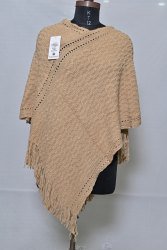 PU77 Woolen Poncho