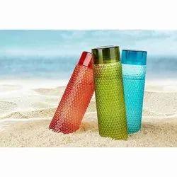 Plastic Bubble Water Bottle, Capacity: 1 Liter