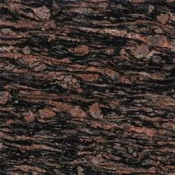 Polished Brazil Brown Granite, For Flooring, Thickness: 15 mm