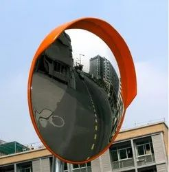 PC Convex Mirrors, For Road Safety, Size: 40 Inch