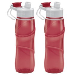 Milton Rave Unbreakable Water Bottle 750 ml Bottle Set of 2, RED