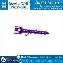 Orthopedic Implants Mono Axial Screw