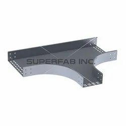 Perforated Cable Tray Horizontal Reducing Tee