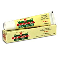 Borasal Multipurpose Antiseptic Cream, Tube, Packaging Size: 25 Gm