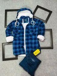 Woolen Men FURR JACKET, Size: M L XL