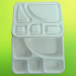 5CP Tray With Lid Bagasse